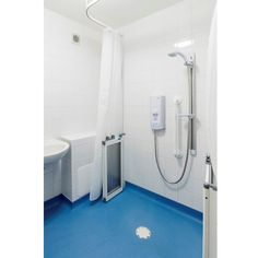 Mira and Whale wet room combo for wheelchair needs