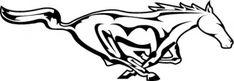 Mustang Emblem, Ford Mustang Logo, Mustang Tattoo, Woman Riding Horse, Horse Cartoon, Cricut Stencils, Clydesdale Horses, Horse Logo, Horse Silhouette