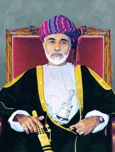 His Majesty, Qaboos bin Said Al Said of Oman, Sultan of Oman