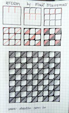 ATORM tangle pattern