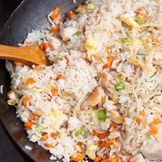 16 Deliciosas recetas con arroz que mejorarán tu vida entera Best Rice Recipe, Rice Recipes, Real Food Recipes, Vegan Recipes, Dinner Recipes, Cooking Recipes, Rice Dishes, Main Dishes, Arroz Frito