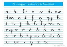A magyar ABC írott kisbetűi - Iskolaellátó. Sheet Music, Study, Activities, Math, Google, Diy, Studio, Bricolage, Math Resources