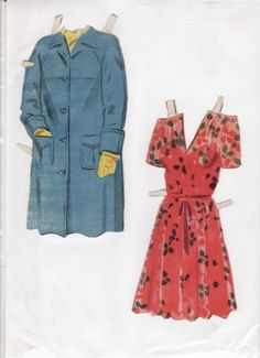 Danish Woman paper doll 2.....SET-60