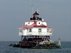 Thomas Point Lighthouse, near Annapolis, Maryland