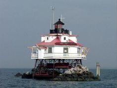 Thomas Point Lighthouse, near Annapolis, Maryland