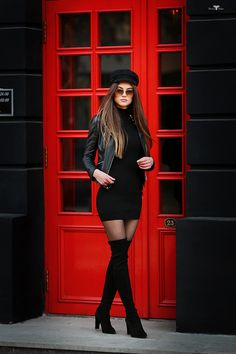 These ladies fashion outfits that look hot:) 392 Edgy Outfits, Winter Fashion Outfits, Mode Outfits, Casual Fall Outfits, Classy Outfits, Look Fashion, Girl Fashion, Autumn Fashion, Womens Fashion
