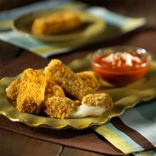 Baked cheese Sticks with Corn Flakes