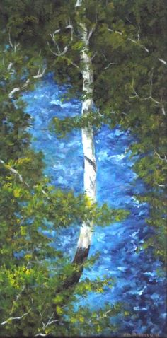 Butlerstown River. by Kieran McElhinney on ArtClick.ie   Irish Art