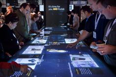 Kodak Interactive Exhibit on Behance