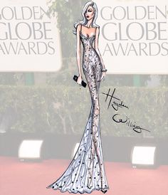 Golden Globes Couture 2015 by Hayden Williams