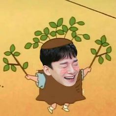 low quality of EXO edit as sinchan ˘ ³˘ Exo Chen, Exo Kai, Chanyeol, Exo Ot12, Chanbaek, Kpop, Exo Cartoon, Exo Memes, Meme Faces