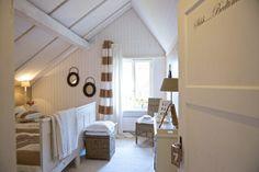 dormitorio con vistas  #Decoración #buhardillas #Dormers #garrets #attics