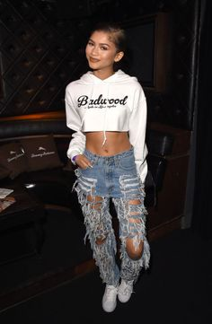 Zendaya Coleman at a private event before the Taylor Swift concert in Los Angeles. See all of the actress's best looks.