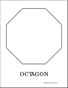 Printable stop sign template from printabletreats shapes and coloring page octagon color this picture of an octagon use it to make pronofoot35fo Choice Image