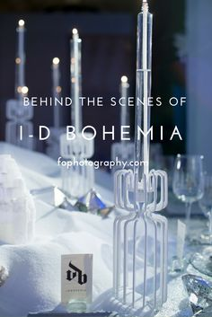 Behind the scenes of @idbohemia at Dinner By Design Calgary 2015.