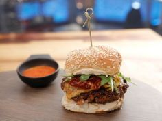 As seen on Beat Bobby Flay: Spanish Burger with Pickled Shallots
