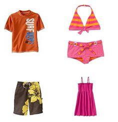 children beachwear | Fun and affordable kids' beach wear