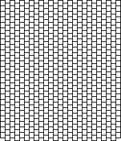 Free Bead Patterns, Blank Brick Pattern by Unique Beaded
