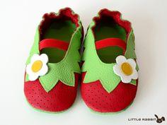 Baby Lederpuschen Ballerinas ab Größe 18 19 von Little Rabbit auf  DaWanda.com. Judit Kiss · cipő bf18d73d09
