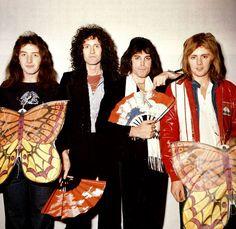 Queen in Japan, 1976. - QUEEN