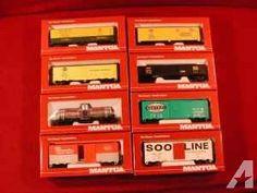 Railroad Trains HO Scale MANTUA New in box MISC. ROLLING STOCK dollor (Lakeland FL)