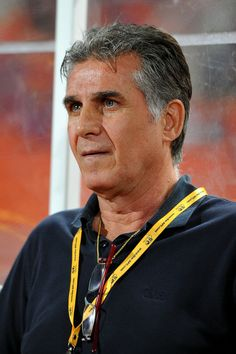 Carlos Quieroz team coach of Iran during their 2015 Asian Cup group B qualifying football match at Rajamangala Stadium on November 15, 2013 in Bangkok, Thailand.
