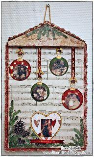papirdesign-blogg: Linn Xmas, Christmas Ornaments, Advent Calendar, Holiday Decor, Home Decor, Decoration Home, Room Decor, Christmas, Christmas Jewelry