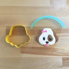 20 Best Ideas Cupcakes Decoration Dog Cookie Cutters - My CMS Fancy Cookies, Iced Cookies, Cute Cookies, Cookies Et Biscuits, Cupcake Cookies, Sugar Cookies, Cookies For Dogs, Horse Cookies, Dog Biscuits