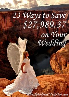 Love the look of this pic. Looks like angel wings. We did most of these and have beautiful weddings. Everyone who will pay or help pay for a wedding in the future should read this! Budget Wedding, Wedding Tips, Diy Wedding, Wedding Planning, Dream Wedding, Nautical Wedding, Wedding Favors, Wedding Stuff, Wedding Cakes