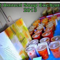 Well this Soup Exchange was a hit and it was agreed that we will have it again. Although I think the ladies wanted me to host another one real soon. They loved the tasting of soups and it made them look forward to going home and having soup for the next week or two. Plus then we knew which one we wanted to open first. After the tasting we voted on the most favorite soup and I gave a Taste of Home Soup Cookbook to the winner. We also just sat around and chatted with one another for an hour or…