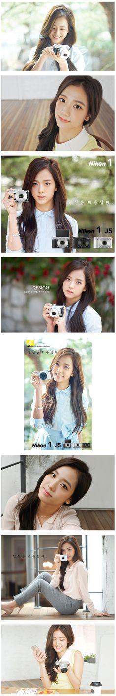 Black Pink's Kim Ji Soo Is A Beautiful Nikon Model! ~ Daily K Pop News http://www.dkpopnews.net/2016/07/black-pinks-kim-ji-soo-is-beautiful.html / https://www.pinterest.com/pin/214202526006133743/ #BLACKPINK #블랙핑크 #JISOO