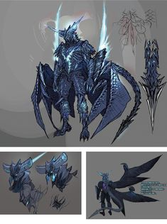 44 Ideas Design Character Concept Awesome For 2019 Fantasy Character Design, Character Design Inspiration, Character Concept, Character Art, Weapon Concept Art, Armor Concept, Fantasy Monster, Monster Art, Fantasy Armor