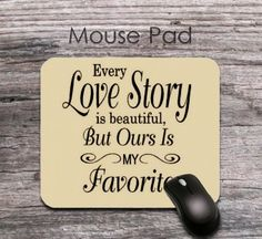 unique love story 2016 new year quotes mouse pad - unique 2016 new year wishes mouse mat - office decor