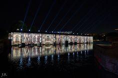 Illuminations barrage Vauban 2014 - 4 / Petite France - #Strasbourg - #Alsace - France