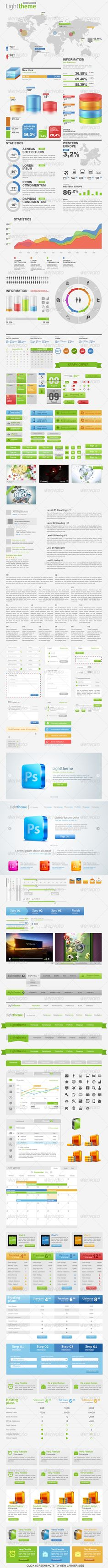 Light Theme Big Pack Web Constructor 1.0