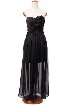 Wieczorowa, jedwabna suknia - czarna   Milita Nikonorov oficjalny butik projektantki
