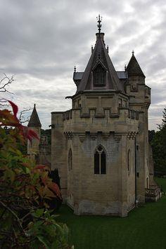 Vez Castle Keep, France