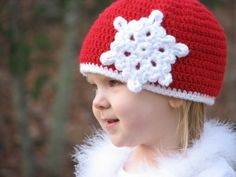>Christmas Snowflake Beanie Crochet Pattern | Ambassador Crochet