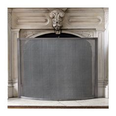 Fireplace Screen (2720 MAD) ❤ liked on Polyvore featuring home, home decor, fireplace accessories, fire-place screen and fireplace screens
