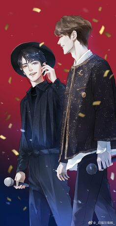 Read Different from the story Different (YiZhan) ✔ by NoonaMVP with reads. Manga Art, Manga Anime, Anime Art, Handsome Anime Guys, Cute Anime Guys, Cute Gay Couples, Anime Couples, Got7 Fanart, Dark Art Drawings