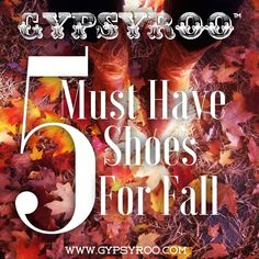 5 Must Have Shoes For Fall #fallshoes #musthaveshoes #shoes #fallfashion #westernshoes
