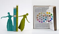 illustrations by Thomas Allen made by cutting books.  I love art made with books and words...