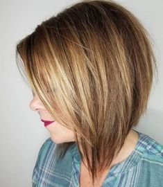 Tousled Angled Caramel Blonde Bob - All For Little Girl Hair Angled Bob Hairstyles, Inverted Bob Hairstyles, Long Bob Haircuts, Straight Hairstyles, Pixie Haircuts, Braided Hairstyles, Layered Haircuts, Celebrity Hairstyles, 2015 Hairstyles