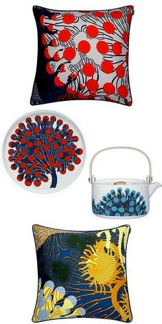 TIP-Add color whenever possible.  Illustrator Kustaa Saksi Debuts in Marimekko's 2015 Collection