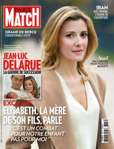 Cette semaine dans Paris Match : Jean-Luc Delarue, le combat d'Elisabeth Bost pour Jean, leur fils. Depuis la mort de l'animateur, son ancienne compagne ne s'était pas exprimée. Face aux rumeurs, elle sort de son silence en exclusivité.