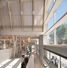 Gallery of Constitución Public Library / Sebastian Irarrázaval - 9 Kids Library, Wood Architecture, Public, Stairs, Interior Design, Gallery, Pictures, Home Decor, Space