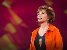 """❛Isabel Allende❜ TED2014: How to live passionately—no matter your age • """"Author Isabel Allende is 71. Yes, she has a few wrinkles—but she has incredible perspective too. In this candid talk, meant for viewers of all ages, she talks about her fears as she gets older and shares how she plans to keep on living passionately."""""""
