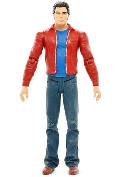 "DC Direct Smallville TV Show Series CLARK KENT Superman 6.75"" Action Figure 2008 #DCDirect"