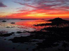 Sunset Herm Island
