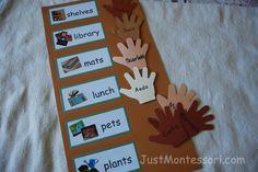 Week 2 activities from Just Montessori